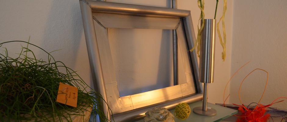 edelstahl bilderrahmen nach ma das von ihnen bestimmt wird. Black Bedroom Furniture Sets. Home Design Ideas