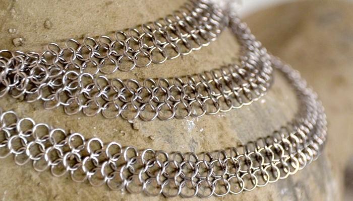 Edelstahl-Schmuck Halskette
