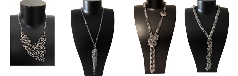 Halsketten aus Edelstahl