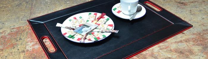 Tischset: schwarz