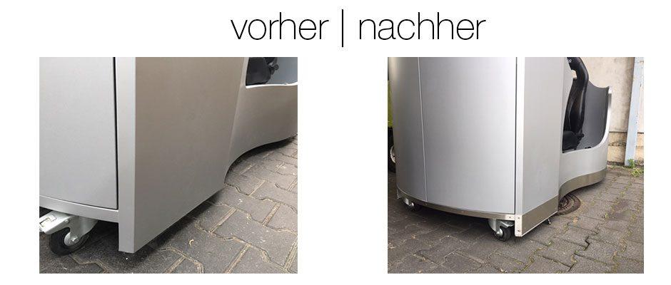 Verkleidung Fahrsimulator