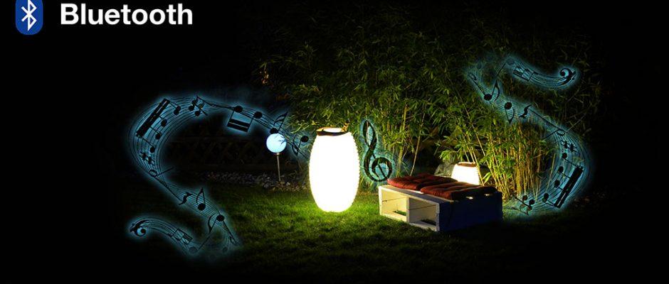 LED Lampe – integrierter Lautsprecher