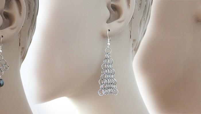 Ohrringe aus Edelstahl